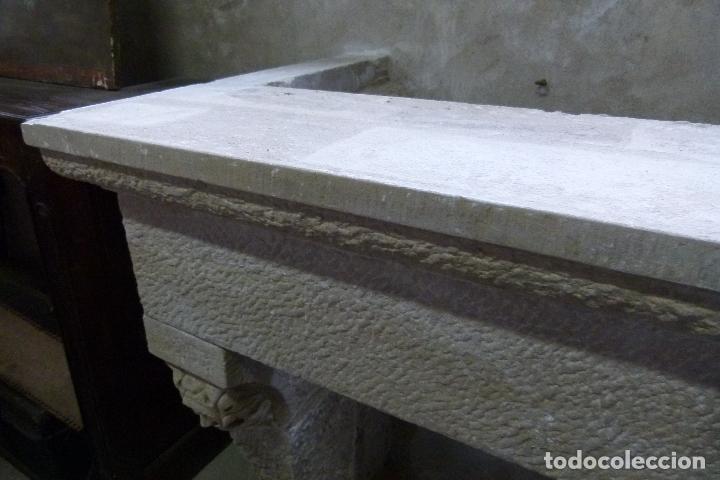 Antigüedades: CHIMENEA DE PIEDRA - Foto 8 - 106131723