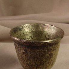 Antigüedades: COPA DE LATÓN. COPITA. MINIATURA. S.XX. Lote 106136615