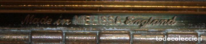 Antigüedades: ESTUCHE DE MAQUILLAJE EN METAL Y NACAR (MELISSA) MADE IN ENGLAND. - Foto 5 - 106145583