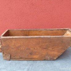 Antigüedades: ANTIGUA FANEGA, MEDIDA DE GRANO, MADERA DE PINO.. Lote 230593325