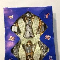 Antigüedades: ANGELITOS PARA ÁRBOL AÑOS 70 HECHO EN ESPAÑA. Lote 106187643