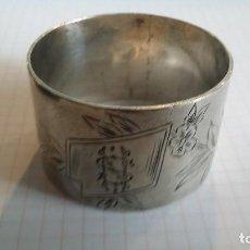 Antigüedades: SERVILLETERO DE PLATA 55 GRAMOS. Lote 106231323