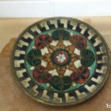 Antiquitäten - platos metal repujado - 106233255