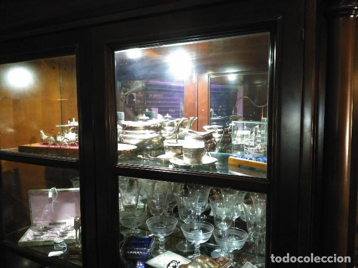 Antigüedades: ENORME GRAN JUEGO TÉ CAFÉ..PLATA 925 MACIZA 1330 gm TETERA LECHERA AZUCARERO ,2.420,00 € FIRMADO - Foto 10 - 54700326