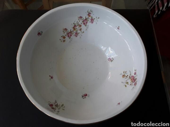 ANTIGUA PALANGANA O AGUAMANIL PICKMAN CHINA OPACA (Antigüedades - Porcelanas y Cerámicas - La Cartuja Pickman)