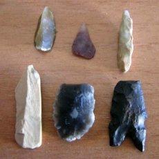 Antigüedades: PUNTAS DE FLECHA Y OTROS ÚTILES / PALEOLÍTICO Y NEOLÍTICO. Lote 162142240