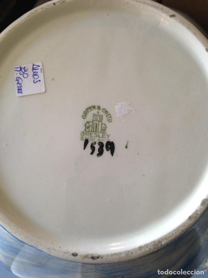 Antigüedades: Jarron gresley england - Foto 3 - 106620562
