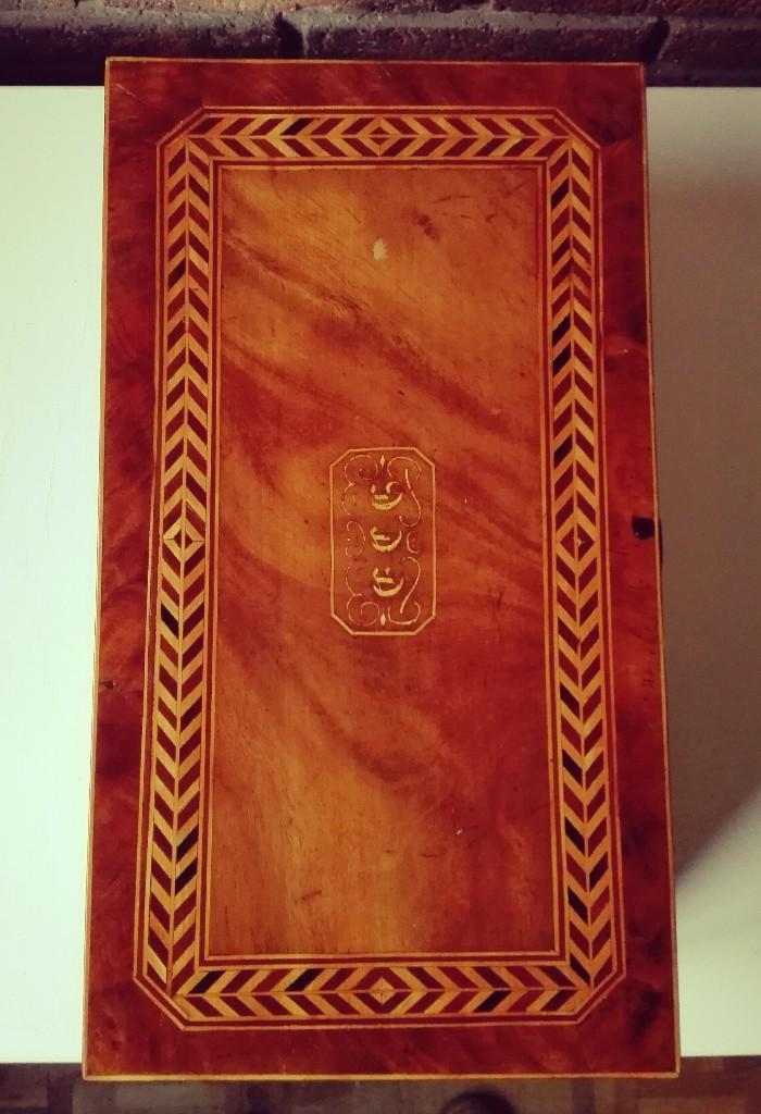 Antigüedades: Escritorio Holandés de barco de gran dimensión. Siglo XIX - Foto 5 - 106639879