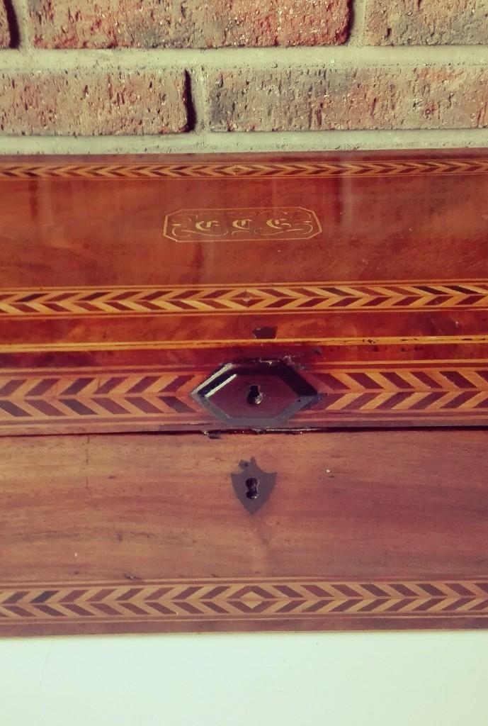 Antigüedades: Escritorio Holandés de barco de gran dimensión. Siglo XIX - Foto 8 - 106639879