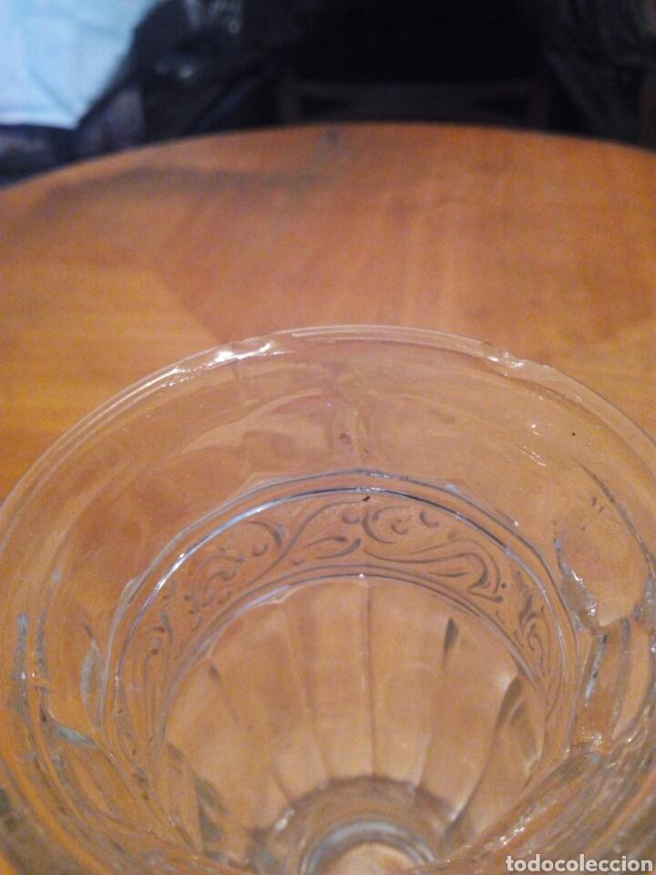 Antigüedades: Florero de vidrio - Foto 2 - 106640982