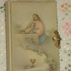 Antigüedades: LIBRO DE COMUNION,DEVOCIONARIO,GUIA DEL CRISTIANO. Lote 106649523