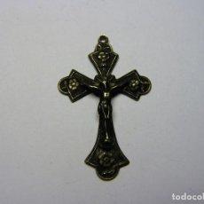 Antiquitäten - Antiguo crucifijo religioso de plata. Nº 35. - 106656731
