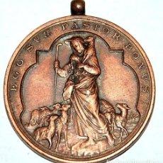 Antigüedades: MEDALLA DE COBRE AÑO 1902 JESUS BUEN PASTOR-Nº 137. Lote 106670515