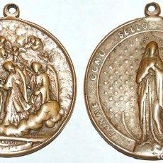 Antigüedades: MEDALLON DEL SIGLO XIX SAN BUENAVENTURA/INMACULADA CONCEPCION-Nº 138. Lote 106670611