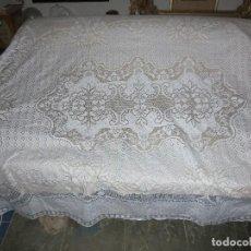 Antigüedades: ANTIGUA COLCHA BLANCA. Lote 106705195
