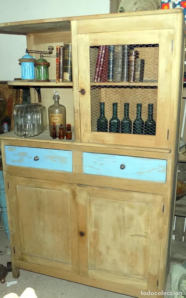 Decorativa alacena mueble de cocina recuperad comprar for Muebles de cocina 45 cm