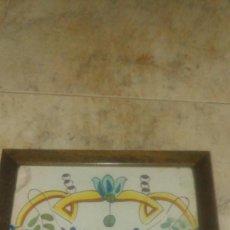 Antigüedades: AZULEJO BARROCO VALENCIANO DEL SIGLO XVIII. Lote 106743955