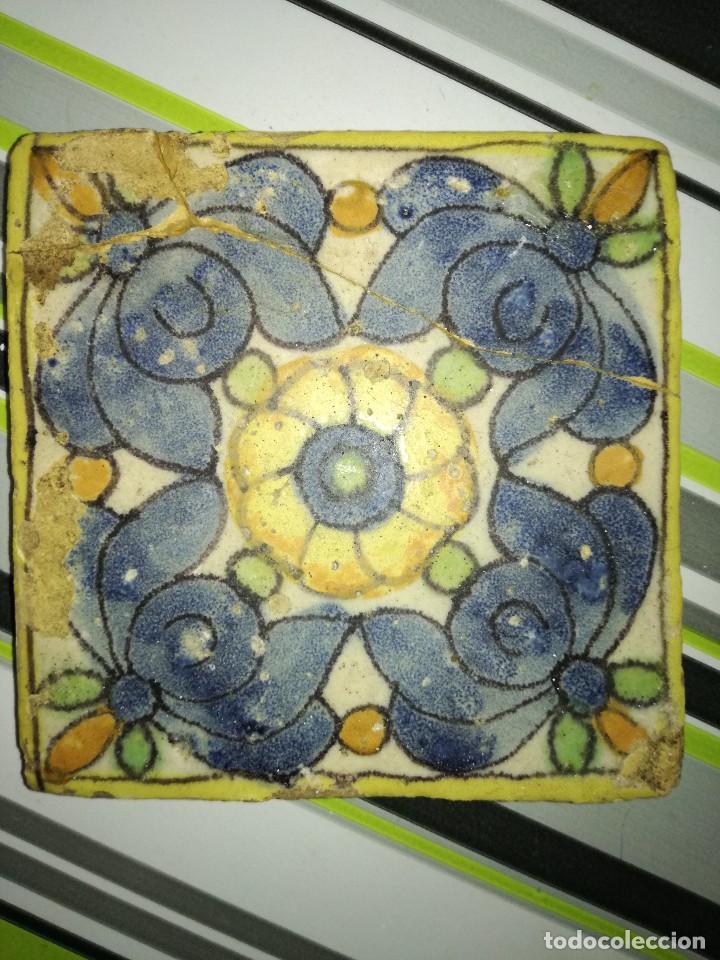 AZULEJO VALENCIANO (Antigüedades - Porcelanas y Cerámicas - Azulejos)