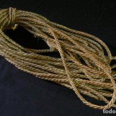 Antigüedades: CORDON PASAMANERIA DORADO - GALON 10 M. Lote 106783667