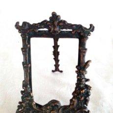 Antigüedades: MARCO DE SOBREMESA EN BRONCE 17 X 12,5 CM. Lote 106804783