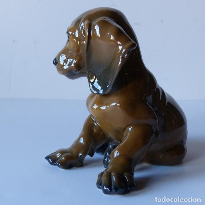 Antigüedades: Perrito. Figura de porcelana rosenthal, Alemania años 70 Estado perfecto - Foto 3 - 106817311