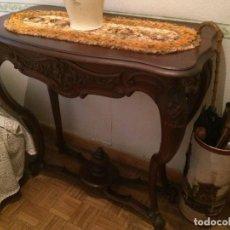 Antigüedades: CONSOLA ANTIGUA Y ESPEJO . Lote 106910847