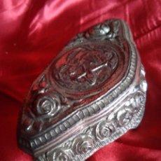 Antigüedades: CAJA DE METAL ANTIGUA. Lote 106924791