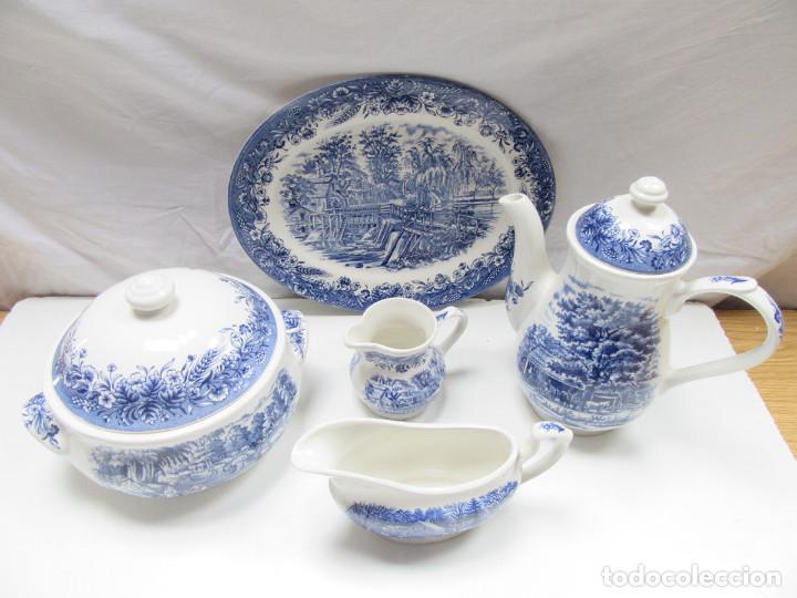 Lote 5 piezas loza vajilla churchill inglesa mu comprar porcelana inglesa antigua bristol en - Vajilla inglesa ...