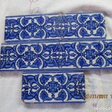 Antigüedades: AZULEJOS SIGLO XIX. Lote 106961263