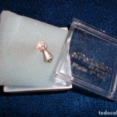 Antigüedades: VIRGEN DEL PILAR EN PLATA. Lote 106969151