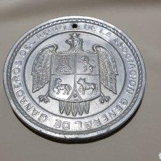 Antigüedades: MEDALLA MEDALLÓN DE LA ASOCIACIÓN GENERAL DE GANADEROS DEL REINO 1926. Lote 106970970