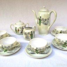 Antigüedades: JUEGO DE CAFÉ JAPONÉS. Lote 106984151