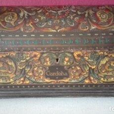 Antigüedades: ANTIGUA CAJA COFRE CORDOBA - TENA. Lote 107013615