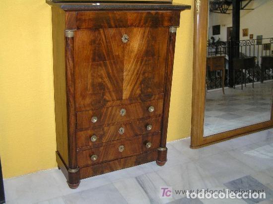 Antigüedades: SECRETER IMPERIO, ÉPOCA REF.6147 - Foto 2 - 107017403