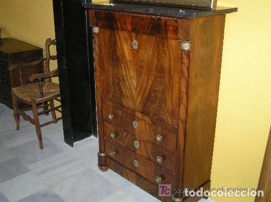 Antigüedades: SECRETER IMPERIO, ÉPOCA REF.6147 - Foto 4 - 107017403