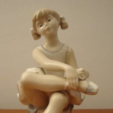 Antigüedades: FIGURA PORCELANA BAILARINA REX VALENCIA EDICION LIMITADA D'AVILA. Lote 107027303