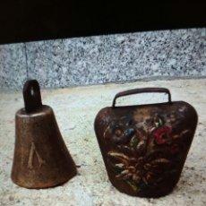 Antigüedades: CAMPANILLAS DE BRONCE.. Lote 107038439