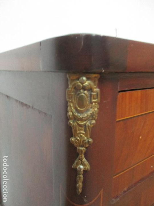 Antigüedades: Bonita Mesa, Tocador - Art Deco - Madera Caoba - Marquetería - Años 20 - Foto 11 - 107074595