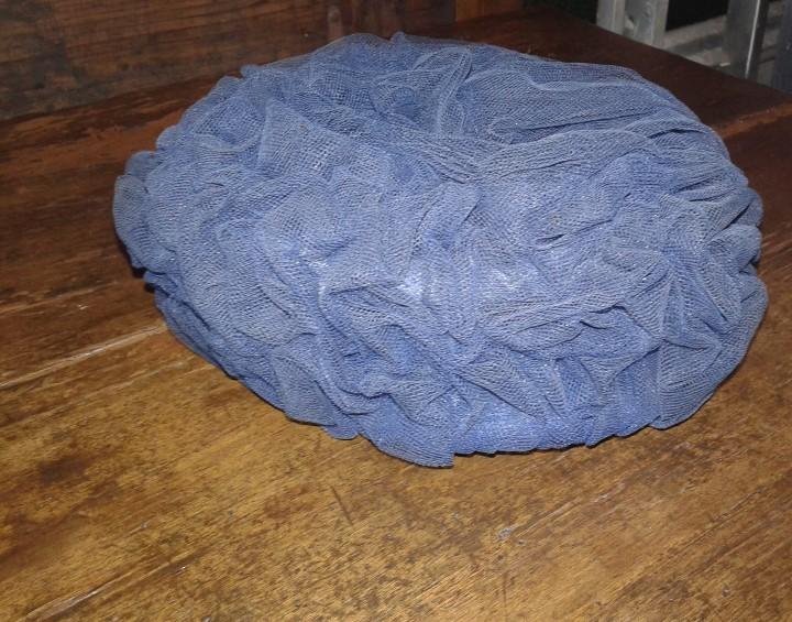 Antigüedades: Sombrero de raso /año 1920 - 30 - Foto 3 - 30302249