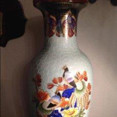 Antigüedades: GRAN JARRON CHINO DE PORCELANA. Lote 107088355