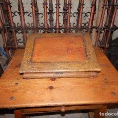Antigüedades: ESCRIBANÍA POLICROMADA XVIII BARROCA. Lote 107164931