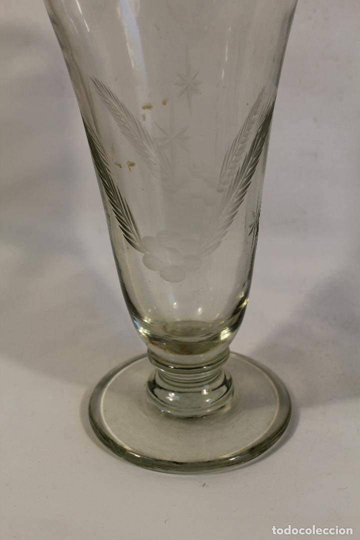 Antigüedades: licorera en cristal de santa lucia - cartagena - Foto 2 - 107182787