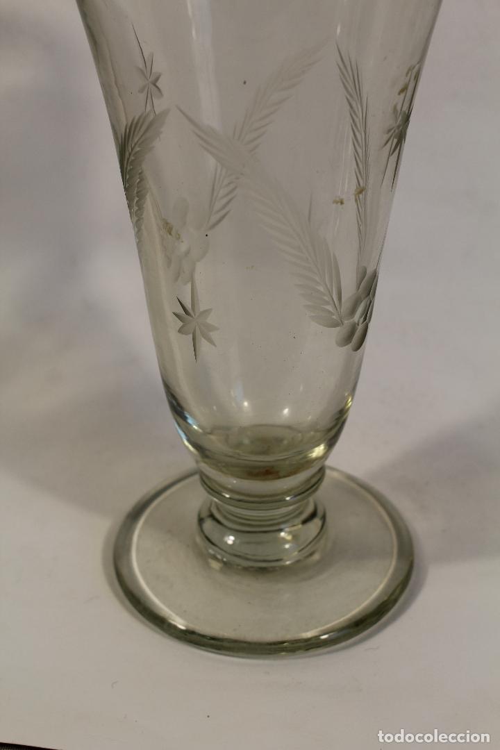 Antigüedades: licorera en cristal de santa lucia - cartagena - Foto 3 - 107182787