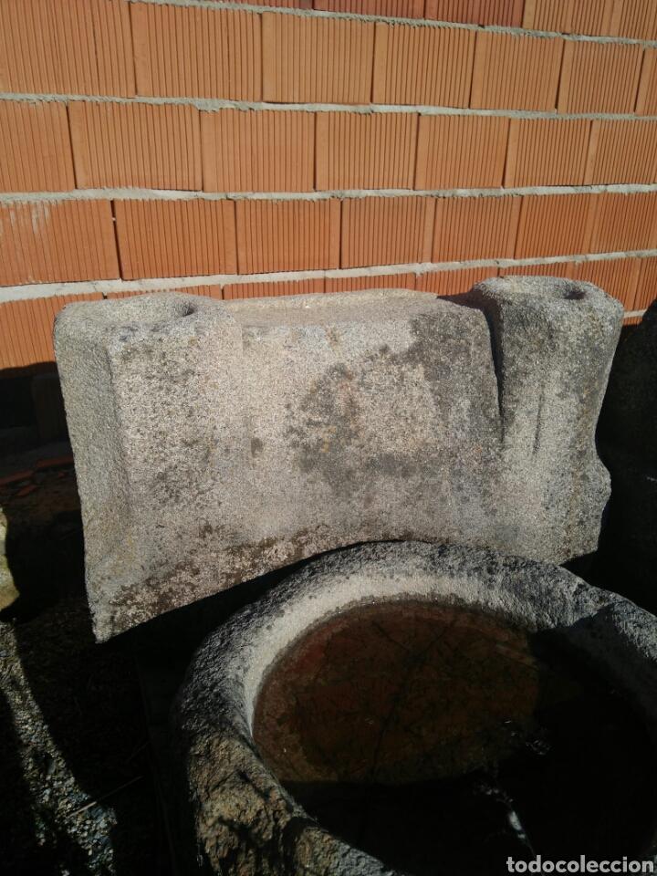 POSIBLE ALTAR ANTIGUO EN PIEDRA DE GRANITO (Antigüedades - Varios)