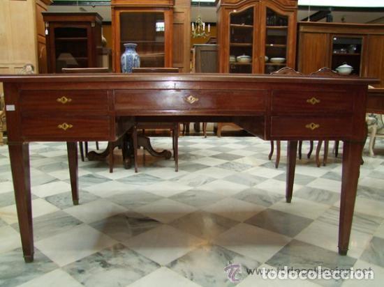 MESA DE DESPACHO DIRECTORIO REF.6154 (Antigüedades - Muebles Antiguos - Mesas de Despacho Antiguos)
