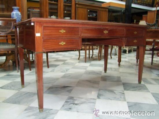 Antigüedades: MESA DE DESPACHO DIRECTORIO REF.6154 - Foto 2 - 107226331