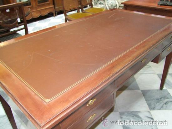 Antigüedades: MESA DE DESPACHO DIRECTORIO REF.6154 - Foto 3 - 107226331
