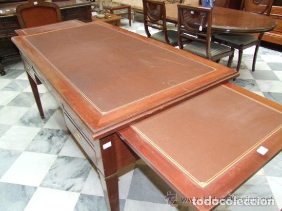 Antigüedades: MESA DE DESPACHO DIRECTORIO REF.6154 - Foto 5 - 107226331