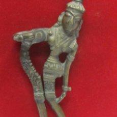 Antigüedades: ANTIGUO CASCANUECES ORIENTAL DE BRONCE - SIGLO XIX. Lote 107271663