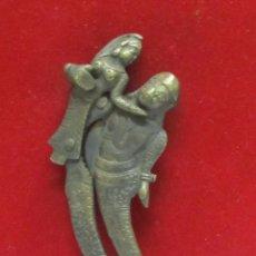 Antigüedades: ANTIGUO CASCANUECES ORIENTAL DE BRONCE - SIGLO XIX. Lote 107272103